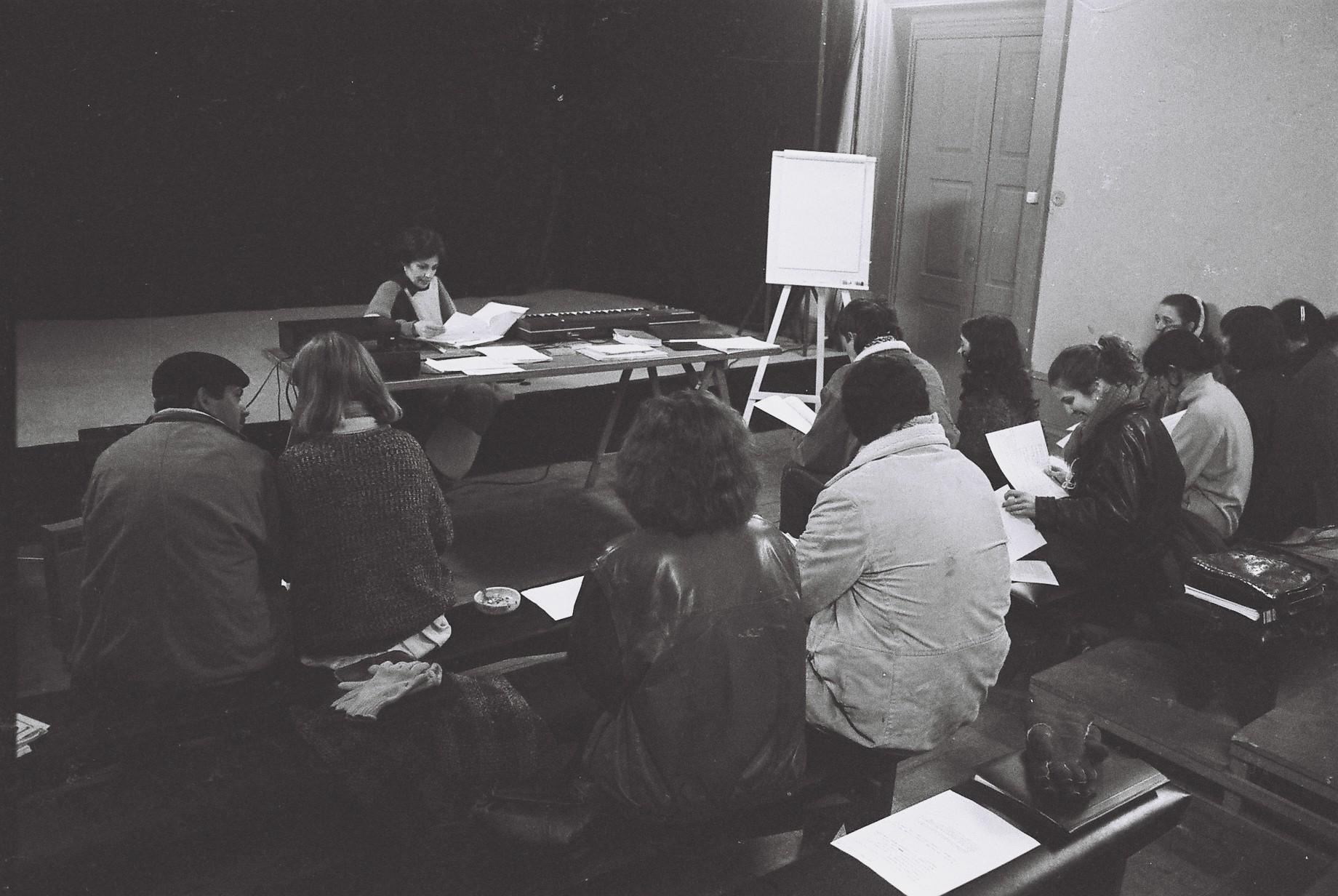 Rua do Heroísmo - Cursos-sessão 6